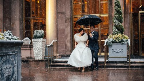 Amy + Matthew | Rainbow room